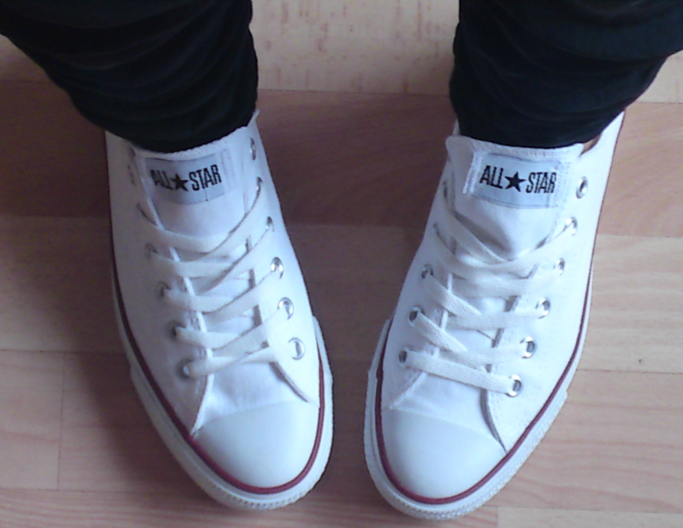 best way to lace converse
