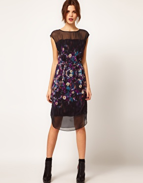 warehouse_floral_dress