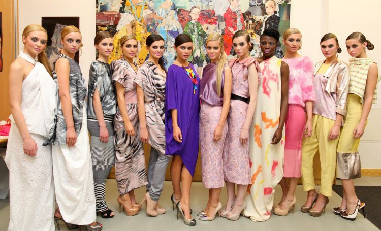 UNA RODDEN COLLECTION BACKSTAGE