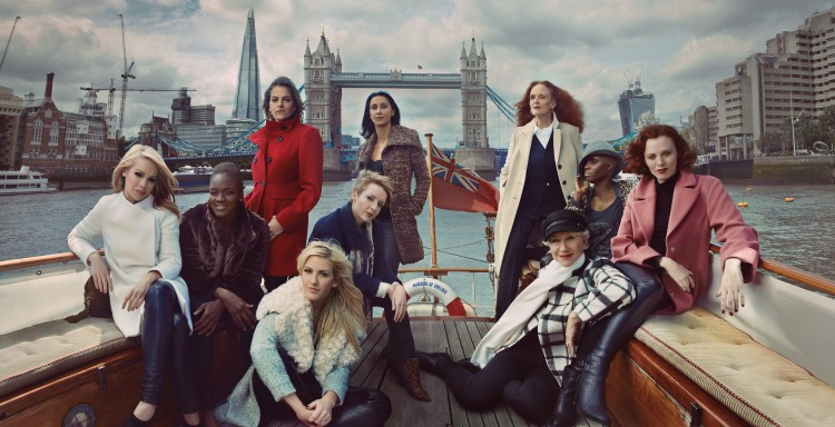 Ad Shot - M&S Britain's Leading Ladies - Coats
