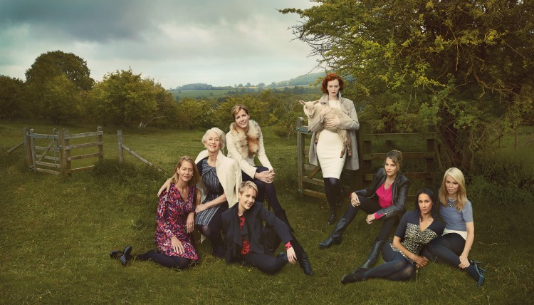 Ad Shot - M&S Britain's Leading Ladies - per una