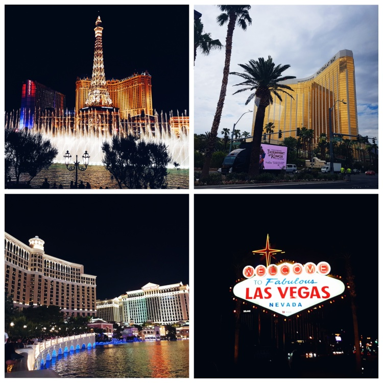 Blogger Niamh Kelly - Las Vegas Strip
