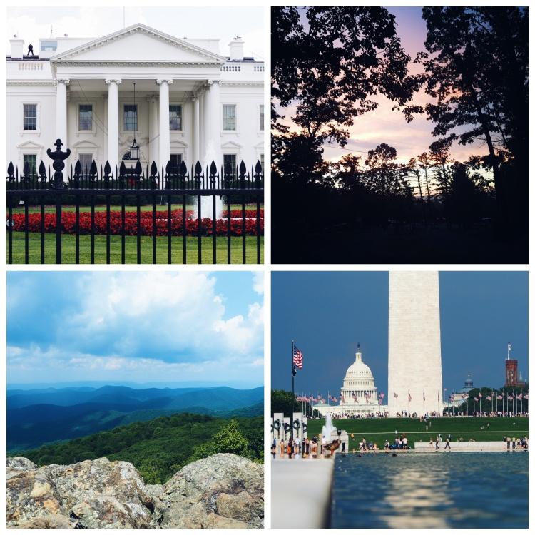 Blogger Niamh Kelly - Washington DC/Shenandoah National Park/Appalachia